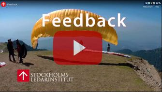 Video om vikten av Feedback